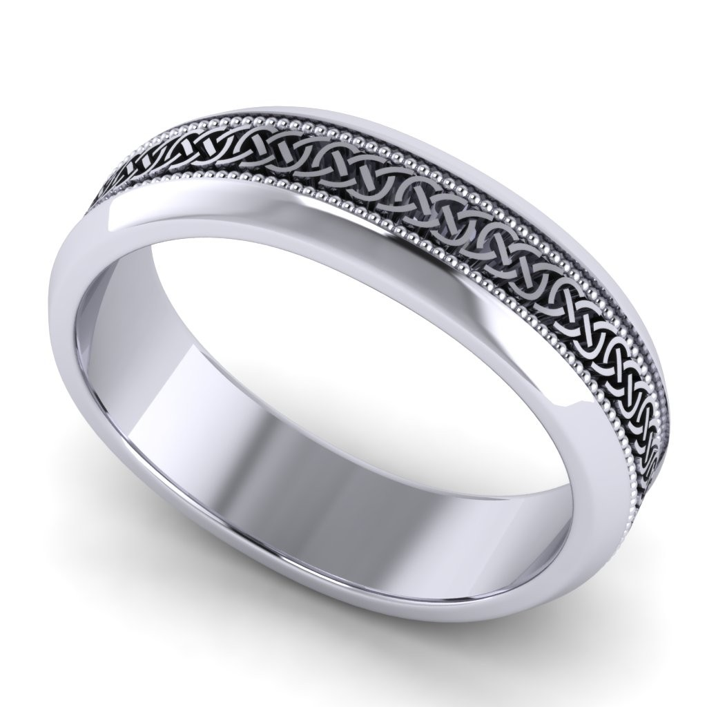 Gents Wedding Rings | William Rabbitte Jewellery