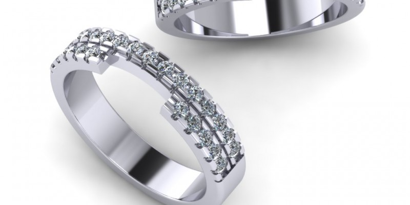 Ladies Fitted Platinum Wedding Ring